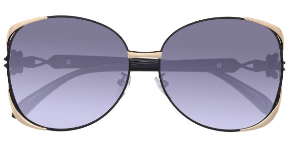 Nina Round Women's Prescription Sunglasses