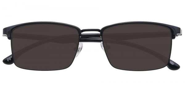 Young Browline Men's Prescription Sunglasses