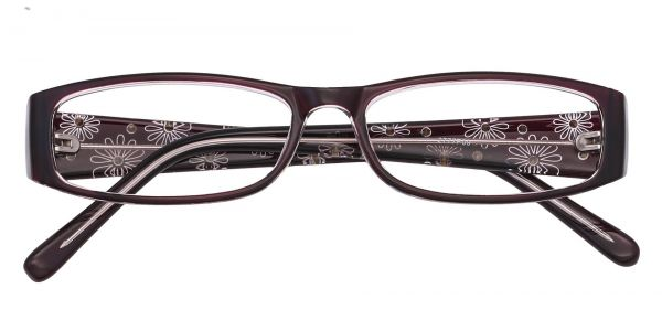 Camille Rectangle Eyeglasses For Women