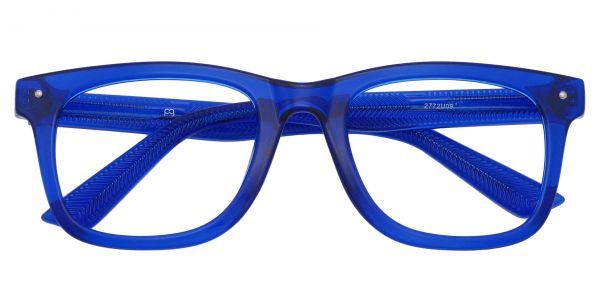 McKinley Square Prescription Glasses - Blue