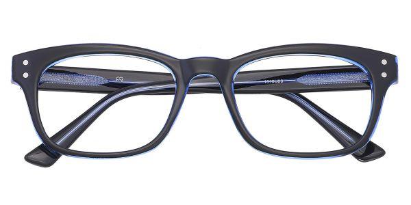Hanover Oval Prescription Glasses - Blue