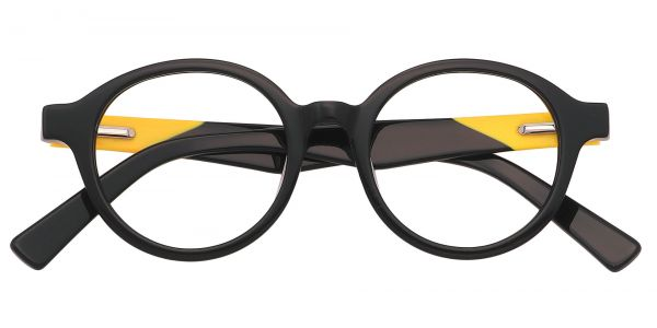 Steel City Round Eyeglasses For Kids