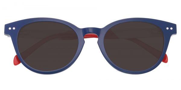 Common Oval Men's Prescription Sunglasses