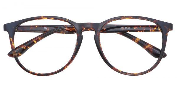 Maple Oval eyeglasses