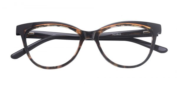Fleck Cat-Eye eyeglasses