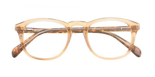 Amber Oval eyeglasses
