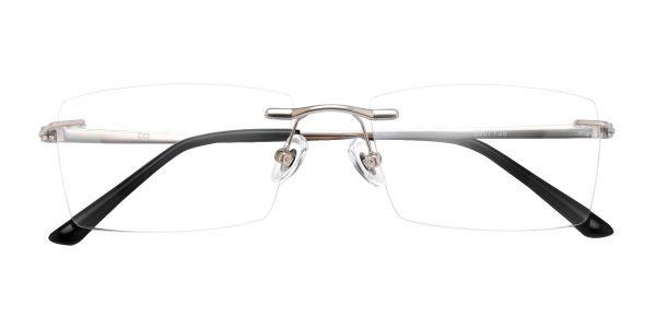 Paulo Rimless eyeglasses