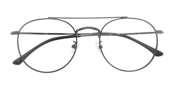 Malik Round eyeglasses