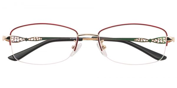 Blanche Oval eyeglasses