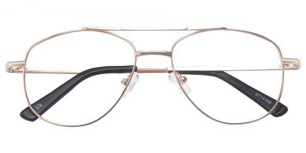 Dwight Aviator eyeglasses
