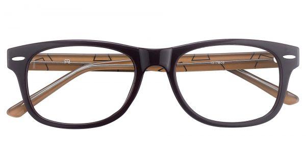 Milton Classic Square Eyeglasses For Women