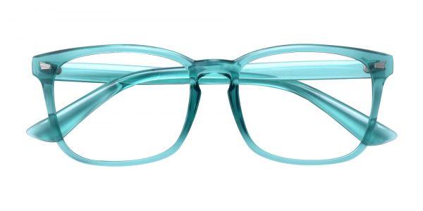 Zen Square Prescription Glasses - Green
