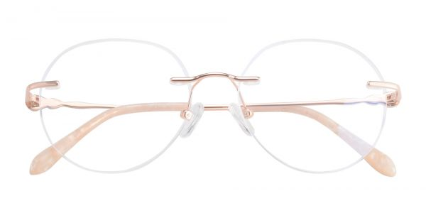 Belle Rimless eyeglasses