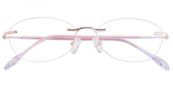 Ellen Rimless eyeglasses