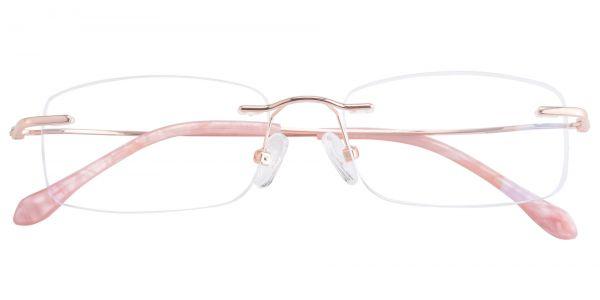 Seashell Rimless eyeglasses