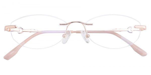 Heart Rimless eyeglasses