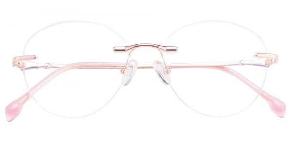 Petal Rimless eyeglasses