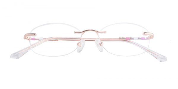 Dewdrop Rimless eyeglasses
