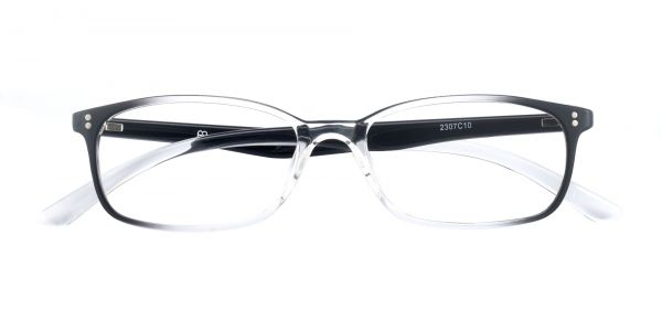 Baskin Rectangle Prescription Glasses - Clear