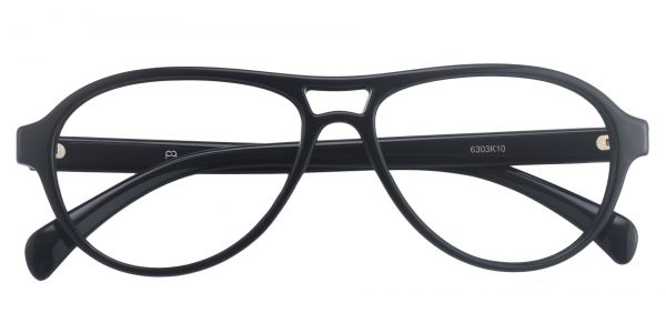 Sosa Aviator Prescription Glasses - Black
