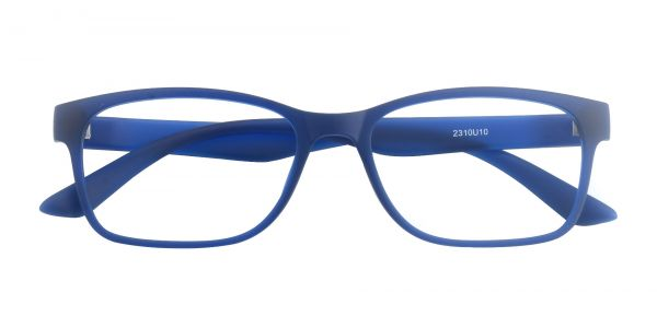 Osmond Rectangle Prescription Glasses - Blue