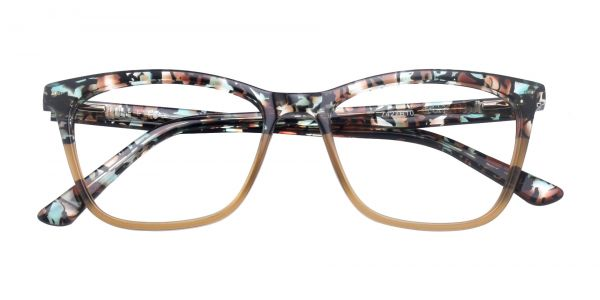 Concord Cat Eye Prescription Glasses - Brown