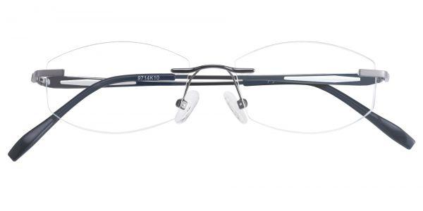 Notch Rimless eyeglasses
