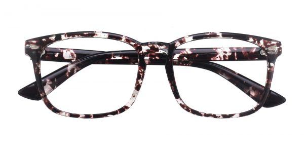 Zen Square Prescription Glasses - Floral