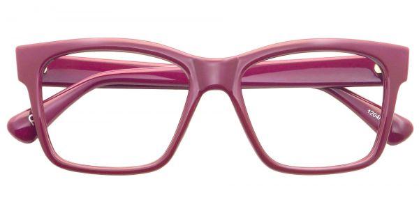 Brinley Rectangle Prescription Glasses - Purple