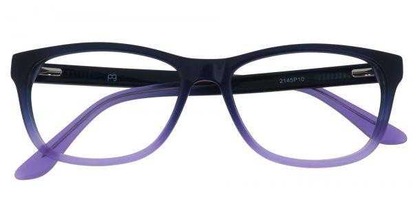Azure Rectangle eyeglasses