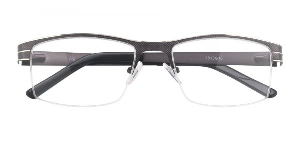March Rectangle Prescription Glasses - Gray