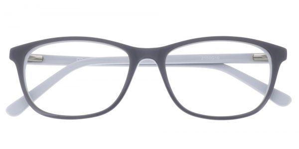 Valor Rectangle Prescription Glasses - Gray