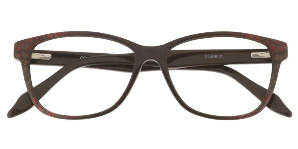 Bartlett Oval Prescription Glasses - Brown