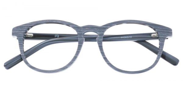 Lathe Oval eyeglasses