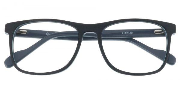 Ebony Rectangle eyeglasses