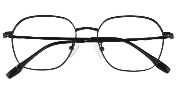 Putnam Geometric Prescription Glasses - Black