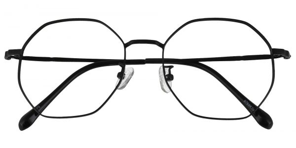 Andover Geometric Prescription Glasses - Black