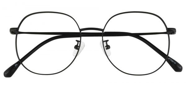 Holden Oval Prescription Glasses - Black