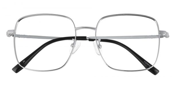 Aisha Square Prescription Glasses - White