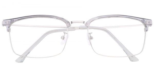 Igby Browline Prescription Glasses - Gray