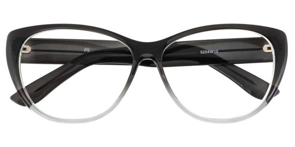 Lynn Cat-Eye Prescription Glasses - Gray