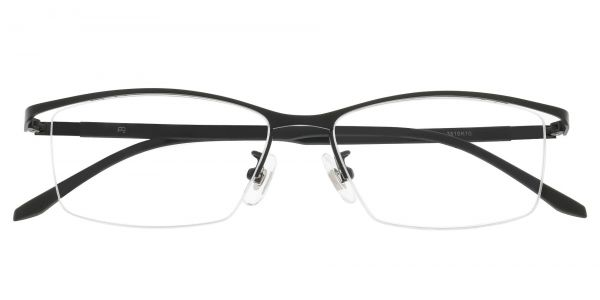 Sedona Rectangle Prescription Glasses - Black