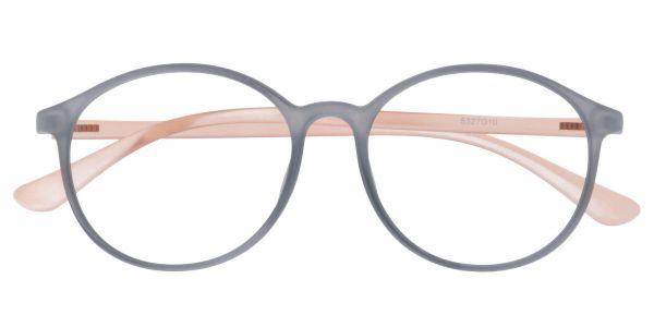Zemi Round Prescription Glasses - Gray