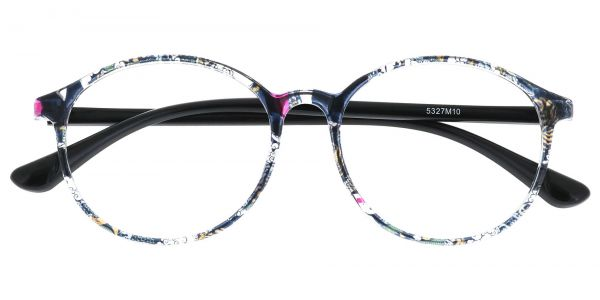 Zemi Round Prescription Glasses - Floral