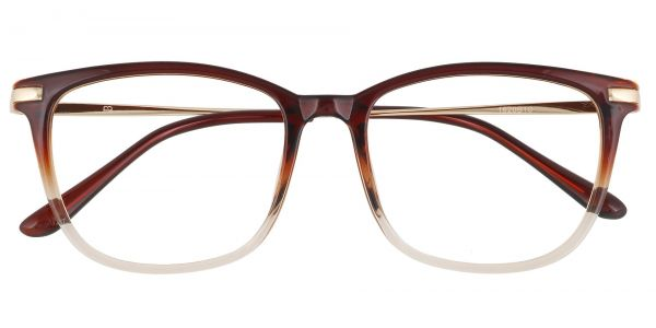 Katie Oval Prescription Glasses - Brown