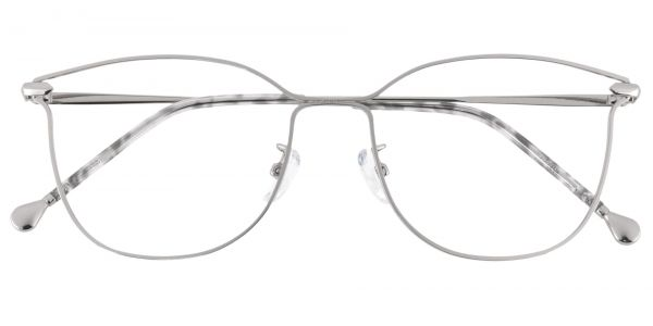 Zola Square Prescription Glasses - White
