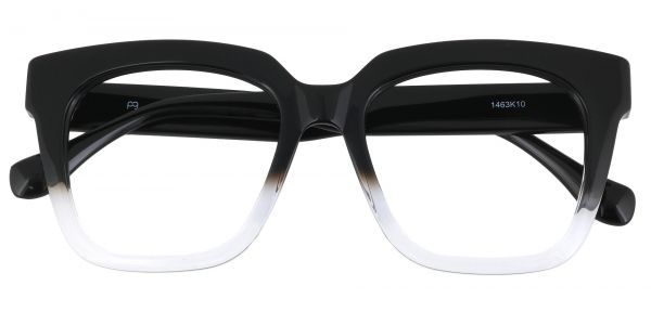 Lyric Square Prescription Glasses - Black