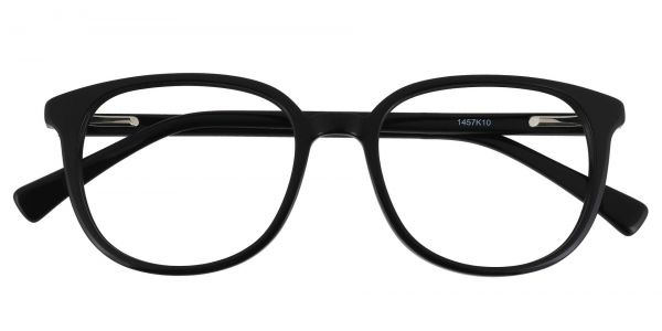 Presley Square Prescription Glasses - Black