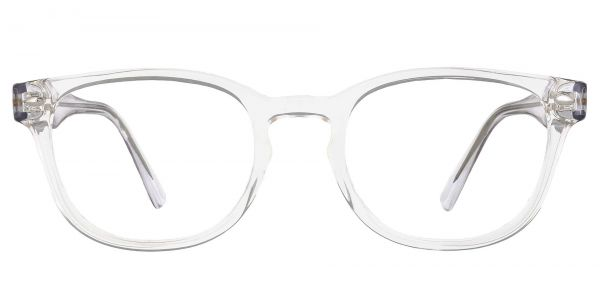 Swirl Classic Square Prescription Glasses - Clear