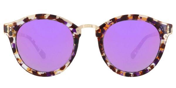 Cadence Oval Prescription Glasses - Purple